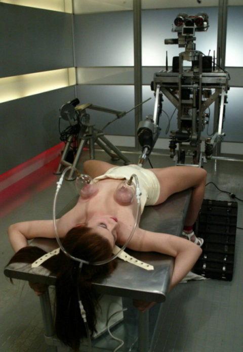 【マンコ破壊】1秒に5ピストンするセックスマシーンの生贄になった女をご覧ください・・・(40枚)・38枚目