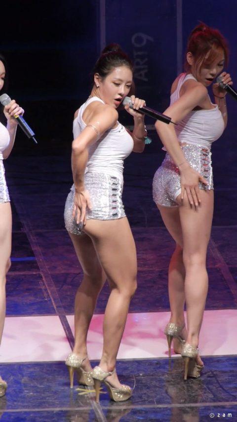 【画像】韓国アイドルダンスグループLAYSHAの座右の銘は「見せてなんぼ」・20枚目