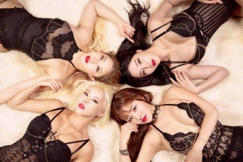【画像】韓国アイドルダンスグループLAYSHAの座右の銘は「見せてなんぼ」・37枚目