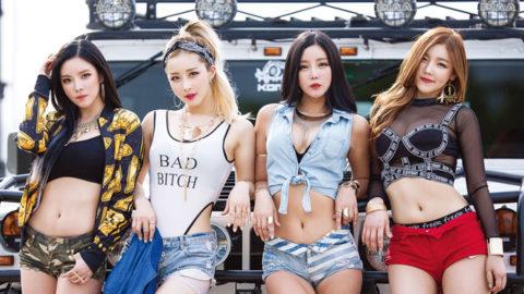 【画像】韓国アイドルダンスグループLAYSHAの座右の銘は「見せてなんぼ」・38枚目