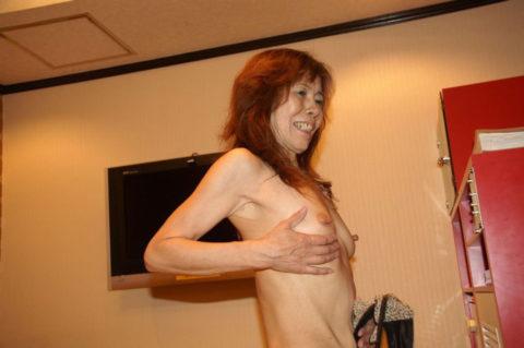 【六十路】人生の2/3を終えた女のエロ画像。これはキツイ・・・(34枚)・1枚目