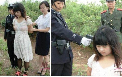 【閲覧注意】中国の女性死刑囚、エロいのにブッ殺される・・・(画像あり)・10枚目