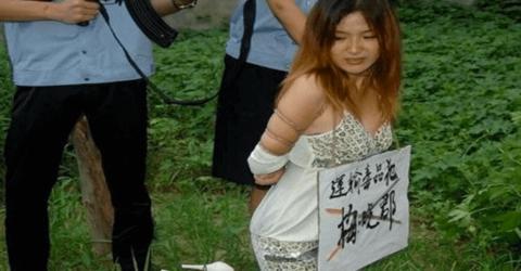 【閲覧注意】中国の女性死刑囚、エロいのにブッ殺される・・・(画像あり)・13枚目