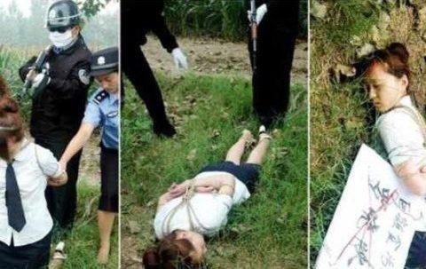 【閲覧注意】中国の女性死刑囚、エロいのにブッ殺される・・・(画像あり)・18枚目