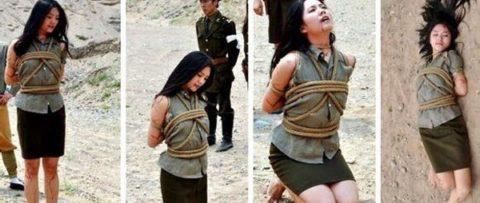 【閲覧注意】中国の女性死刑囚、エロいのにブッ殺される・・・(画像あり)・27枚目