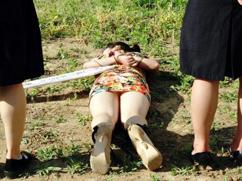 【閲覧注意】中国の女性死刑囚、エロいのにブッ殺される・・・(画像あり)・7枚目