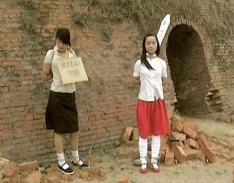 【閲覧注意】中国の女性死刑囚、エロいのにブッ殺される・・・(画像あり)・8枚目