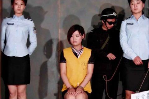 【閲覧注意】中国の女性死刑囚、エロいのにブッ殺される・・・(画像あり)・9枚目