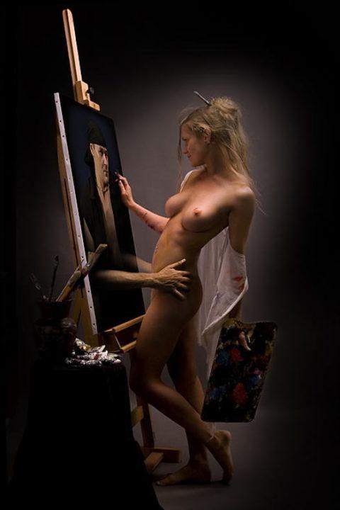 芸術家「これは、アートです!」ただただエロい芸術をご覧ください。(37枚)・10枚目