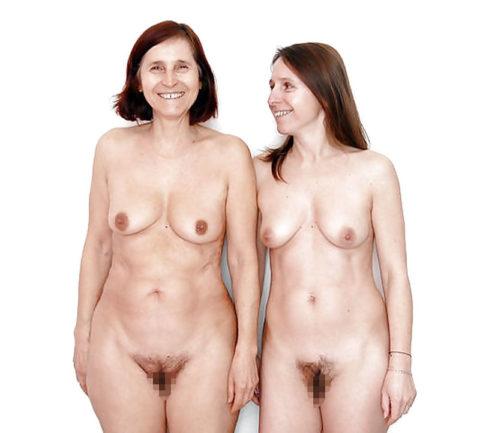 全裸を晒した素人親子のエロ画像を見た結果。ガチで体つきも似るんやなぁwwwwwww(33枚)・14枚目