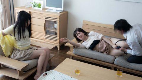 【エロ画像】家族は公認してる家庭内セックスの光景がこれ…地獄やろこれwwwww・3枚目