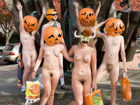 ハロウィンで仮装する露出狂のコスチュームをご覧下さいwwwwwww(画像あり)
