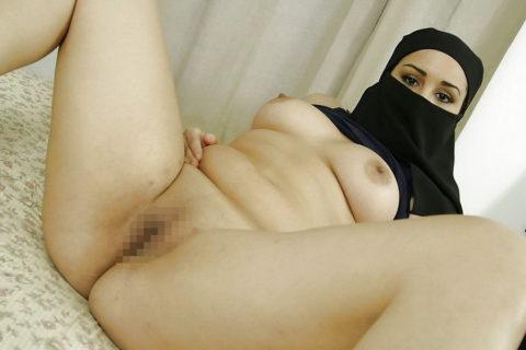 【神ボディー】想像以上のエロい身体のイスラム美女のエロ画像集。38枚・1枚目