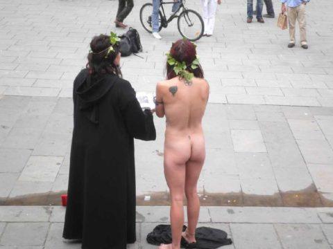 ハロウィンで仮装する露出狂のコスチュームをご覧下さいwwwwwww(画像あり)・1枚目