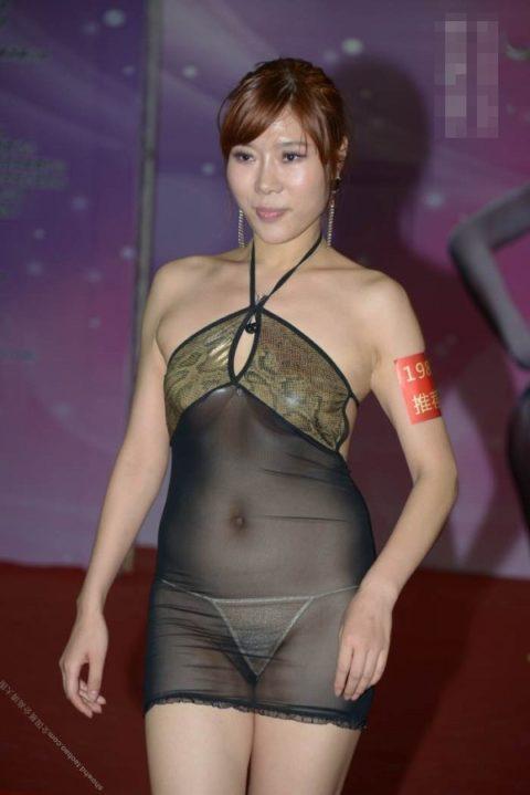 下着モデル女さん、ガッツリ透けててもお構いなしで撮影に挑むwwwwwww(37枚)・22枚目