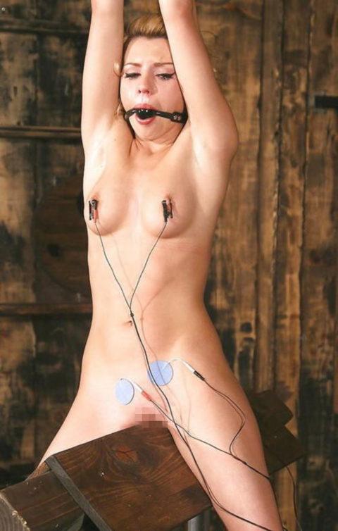 【調教】三角木馬で本気の拷問されてる女さんをご覧ください…これは痛すぎる(画像あり)・24枚目