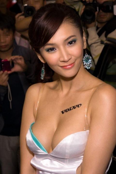 ガチでハイレベルな中国・台湾のキャンギャルのエロ画像集(38枚)・28枚目