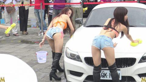 中国まんさん、欧米のマネをして「水着で洗車してみた!」がくっそエロかったwwwww(38枚)・30枚目