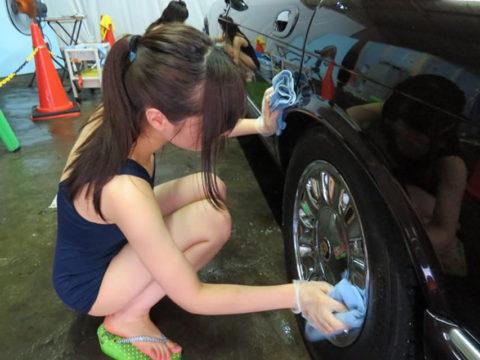 中国まんさん、欧米のマネをして「水着で洗車してみた!」がくっそエロかったwwwww(38枚)・31枚目