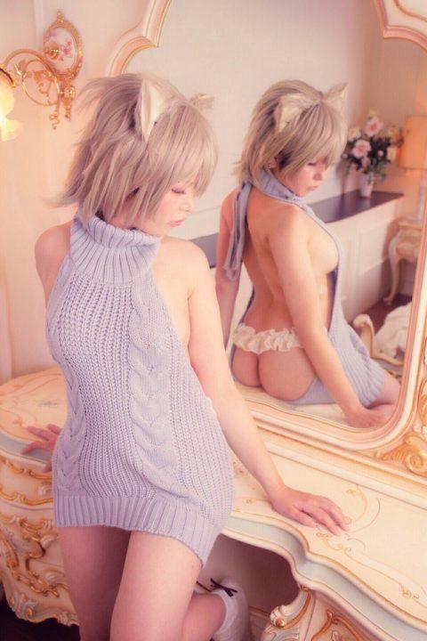 【エロセーター】「童貞殺し」という必殺技みたいな技名を付けられた服がこれwwwww(40枚)・32枚目