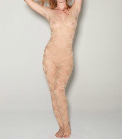 下着モデル女さん、ガッツリ透けててもお構いなしで撮影に挑むwwwwwww(37枚)・33枚目