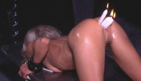 蝋燭をアソコにぶっ刺して「ハッピバースデートゥーユー」してる女。。(画像あり)・33枚目