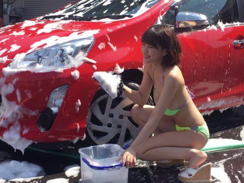 中国まんさん、欧米のマネをして「水着で洗車してみた!」がくっそエロかったwwwww(38枚)・35枚目