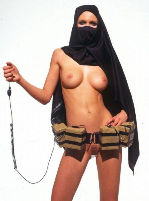 【神ボディー】想像以上のエロい身体のイスラム美女のエロ画像集。38枚・37枚目