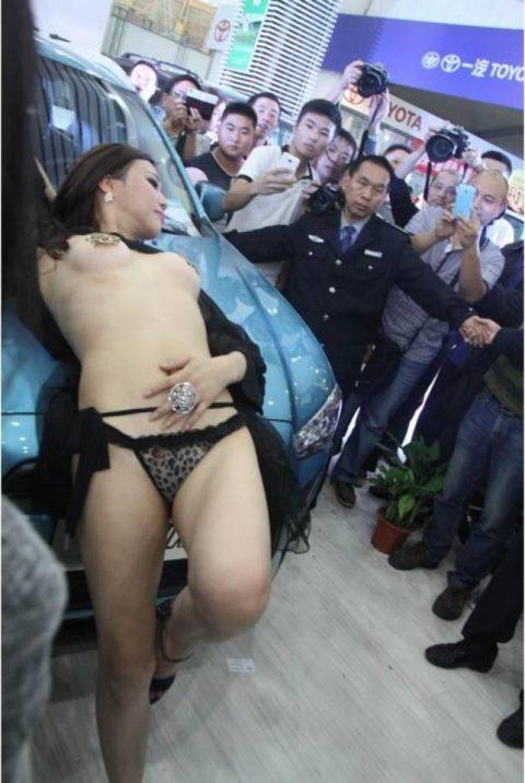 ガチでハイレベルな中国・台湾のキャンギャルのエロ画像集(38枚)・38枚目