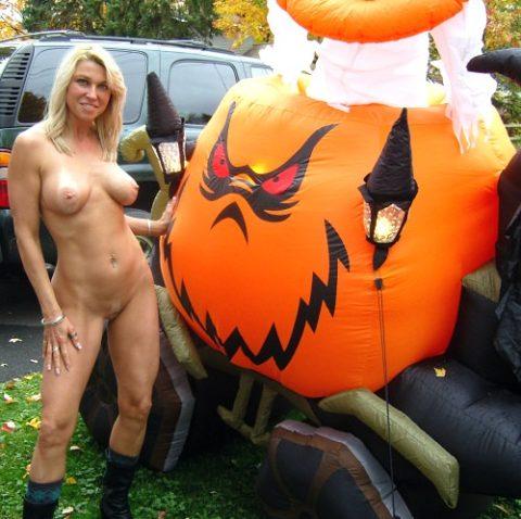 ハロウィンで仮装する露出狂のコスチュームをご覧下さいwwwwwww(画像あり)・4枚目