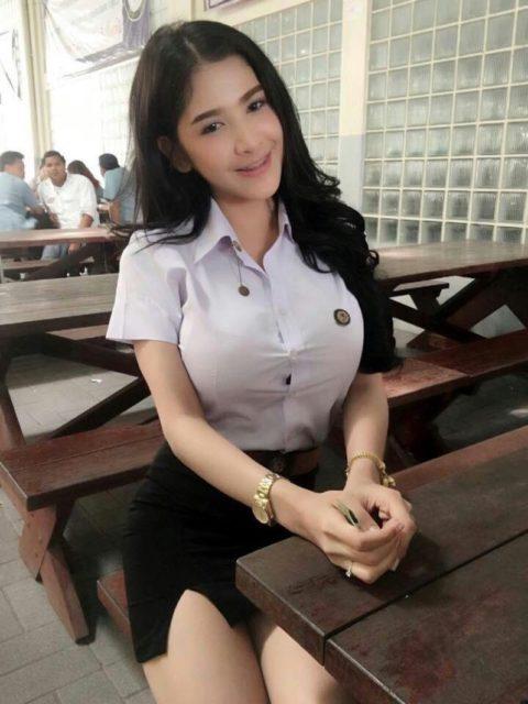 タイの女子大生さん、世界屈指の美貌を見せつける。(画像44枚)・33枚目