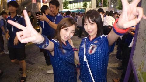 【MGS独占セール】10/18まで限定ハメ撮りエロ動画、サッカー日本代表を利用するナンパwwww(動画)・1枚目