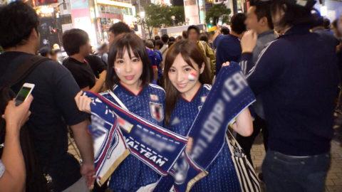 【MGS独占セール】10/18まで限定ハメ撮りエロ動画、サッカー日本代表を利用するナンパwwww(動画)・2枚目