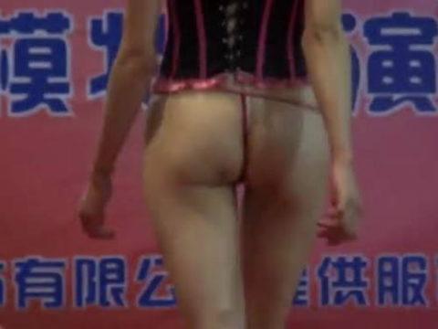 中国の下着コンテストの入賞者、もう下着の役目を果たしてないwwwwwww(画像あり)