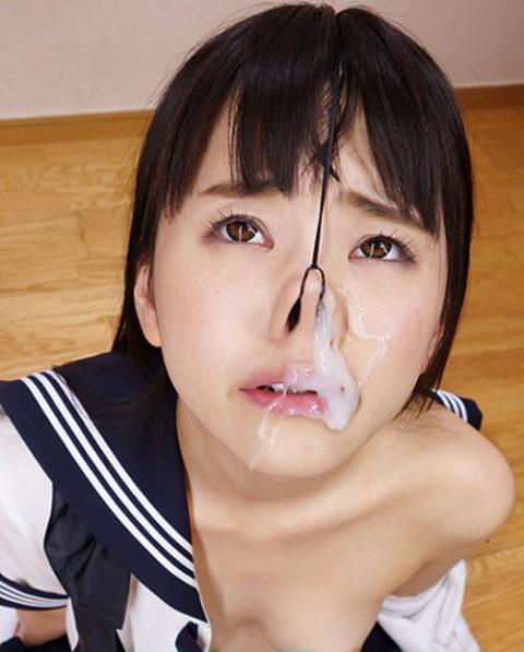 【エロ画像】鼻の中にダイレクト発射されたまんさん、この苦しみはヤバいwwwww・13枚目