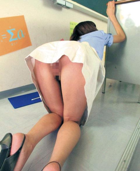 【ノーパン】ミニスカ覗こうとしたワイ、パンツが無くて逆に「ギョッ」とするwwwww(画像あり)・29枚目