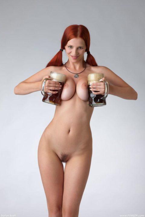 生粋の赤毛美女がヌードになるとこうなります。パツキンとは違うエロさがあるwwwww(29枚)・4枚目
