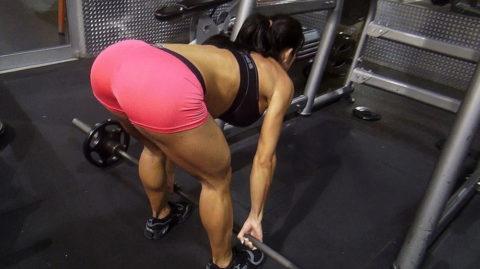【SNS】トレーニング中の光景をうpする女さん、男しかフォロワーおらんやろwwwwww(画像あり)・7枚目