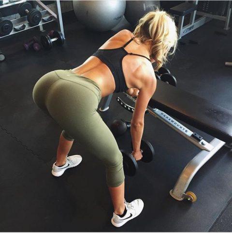 【SNS】トレーニング中の光景をうpする女さん、男しかフォロワーおらんやろwwwwww(画像あり)・8枚目