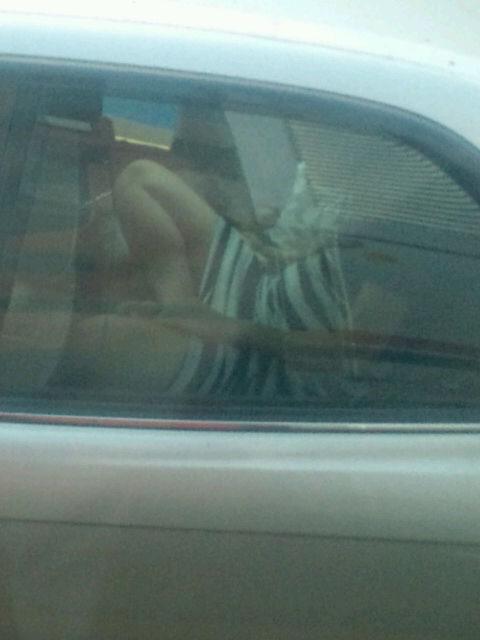 【素人】トラック運転手が一般車を盗撮。こんな特典があったとはwwwwww(画像あり)・10枚目