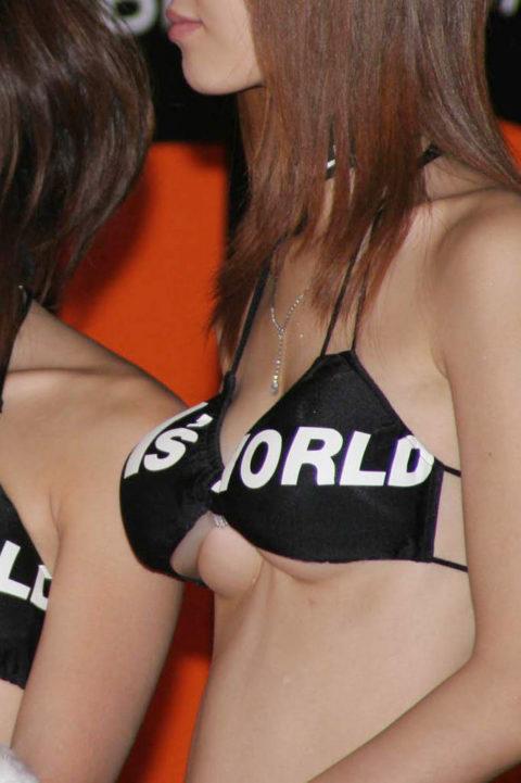 【露出】アジアのコンパニオンさん、乳首だけ隠しとけばおkって思ってるんだがwwwwww・17枚目
