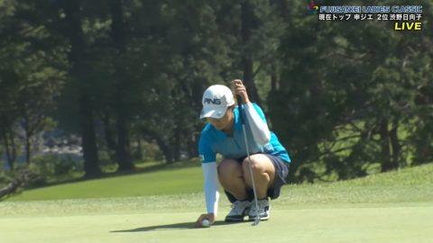 【パンチラ】女子ゴルファーが最も撮影される禁断ゾーンがこれwwwww(52枚)・18枚目