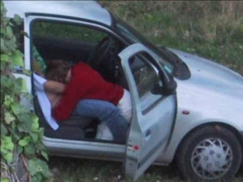 カーセックスカップル、車外からまんまと盗撮されるwwガッツリ刺さってるやんwwwww(エロ画像)・18枚目