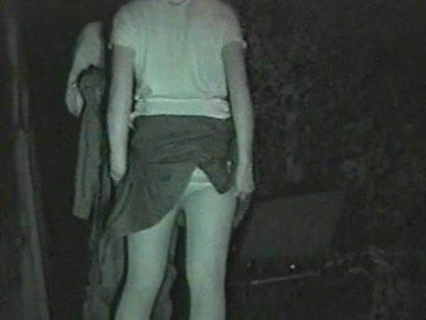【エロ画像】深夜の公園で 合体 してるカップルが激写されるwwwwww・19枚目