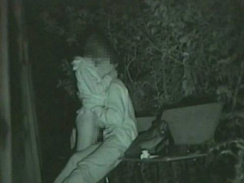 【エロ画像】深夜の公園で 合体 してるカップルが激写されるwwwwww・26枚目