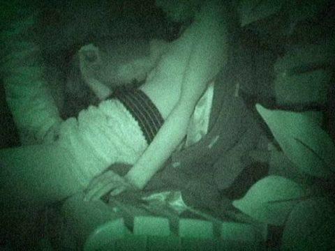 【エロ画像】深夜の公園で 合体 してるカップルが激写されるwwwwww・8枚目
