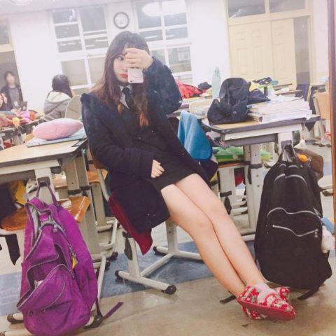 【エロ画像】韓国女子高生の制服…娼婦でエロいと話題にwwwwwww(34枚)・14枚目