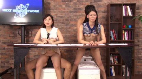 女子アナウンサーが本番中に本番セックスするっていう状況wwwwwww(エロ画像)・26枚目