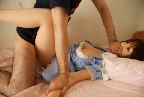 【エロ画像】ワイ、彼女(ラブドール)とのハメ撮り晒すわ。これは 病 気 で す wwwwwww・8枚目