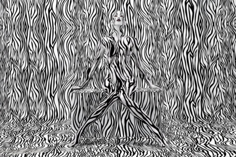 【ボディーペイント】芸術的でエロいやつだけ集めたエロ画像集。書いたヤツ天才すぎwwww・26枚目